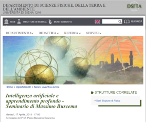 Seminario Università di Siena