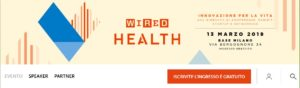 WIRED HEALTH Conference 13 March 2019 Milan