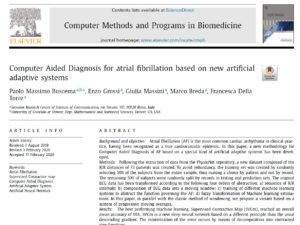 Computer Aided Diagnosis for atrial fibrillation based on new artificial adaptive systems