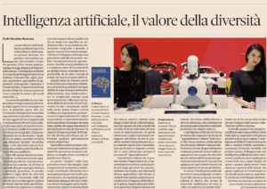 Il Sole 24 Ore – Artificial Intelligence, the Value of Diversity